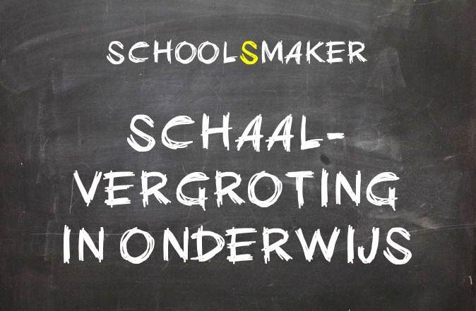 SchoolSmaker Schaalvergroting