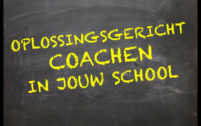 SchoolSmaker 'Oplossingsgericht coachen in jouw school'