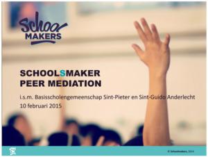 PeerMediation presentatie